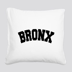 BRONX, NYC Square Canvas Pillow