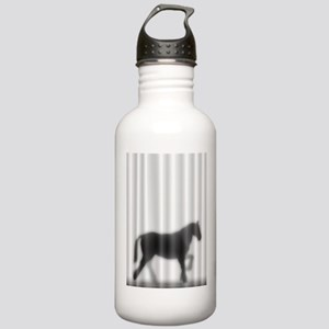 Draft Horse Silhouette Stainless Water Bottle 1.0L