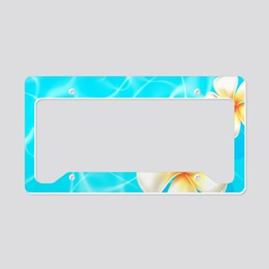 Tropical Ocean License Plate Holder