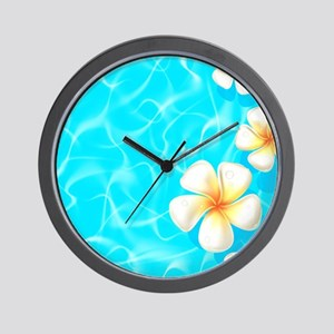 Tropical Ocean Wall Clock
