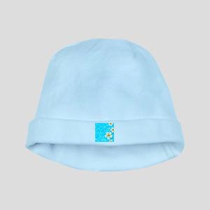 Tropical Ocean baby hat