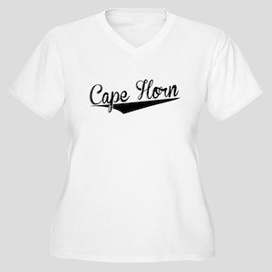 Cape Horn, Retro, Plus Size T-Shirt
