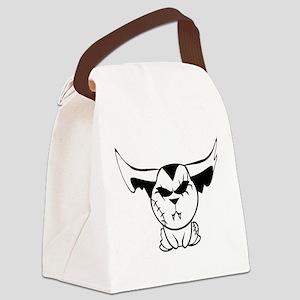 Bad Little Bunny Canvas Lunch Bag