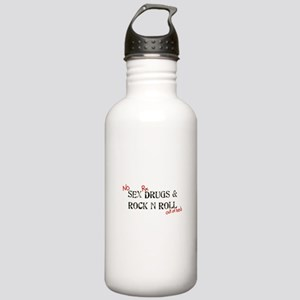 No Sex, Drugs & Rock a Stainless Water Bottle 1.0L