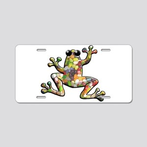 Jelly Beans Aluminum License Plate