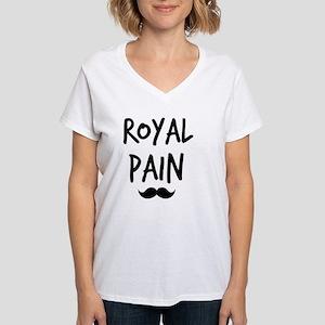 Royal Pain Women's V-Neck T-Shirt
