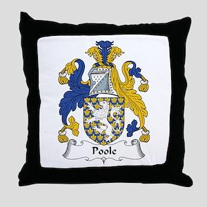 Poole Throw Pillow