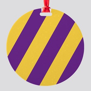 Roya Purple and Pure Gold Ornament
