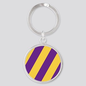 Roya Purple and Pure Gold Keychains
