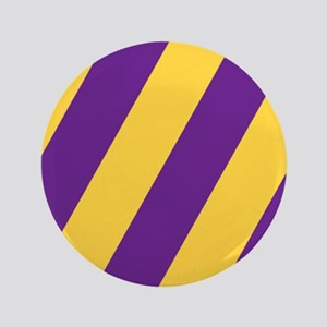 "Roya Purple and Pure Gold 3.5"" Button"