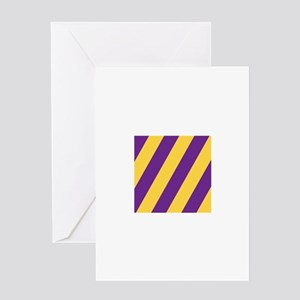 Roya Purple and Pure Gold Greeting Cards