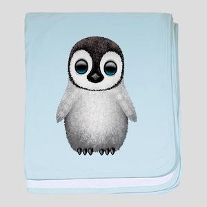 Cute Baby Penguin baby blanket