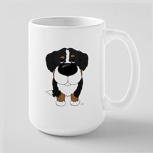 Big Nose Berner Large Mug