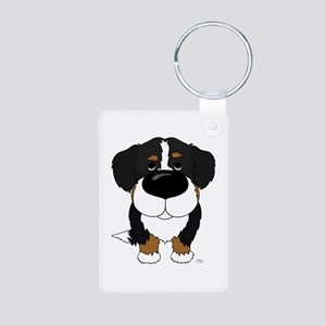 Big Nose Berner Aluminum Photo Keychain