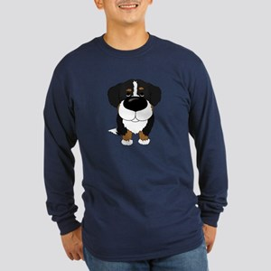 Big Nose Berner Long Sleeve Dark T-Shirt