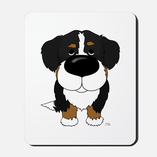 Big Nose Berner Mousepad