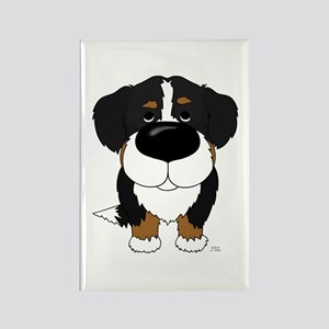 Big Nose Berner Rectangle Magnet