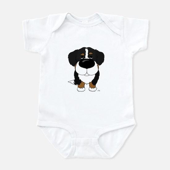 Big Nose Berner Infant Bodysuit