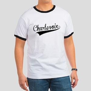 Charlevoix, Retro, T-Shirt