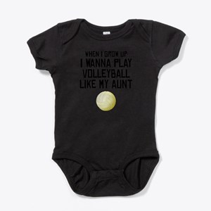 Volleyball Like My Aunt Body Suit