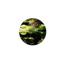 garden reflections Mini Button