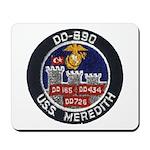 USS MEREDITH Mousepad