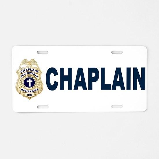 Cute Cops Aluminum License Plate
