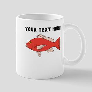 Custom Red Snapper Mugs