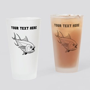 Custom Tuna Fish Drinking Glass