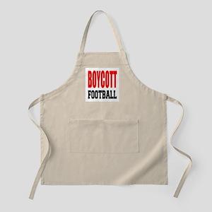 Boycott Football Light Apron