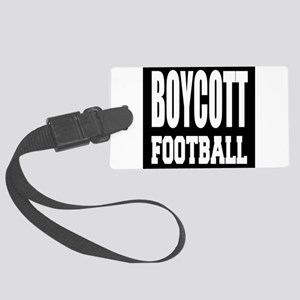 Boycott Football Luggage Tag