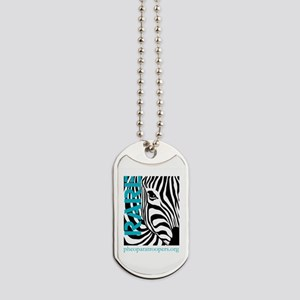 Zebra Pride Dog Tags