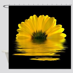 Daisy Reflected Shower Curtain