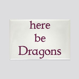 Here Be Dragons 002c Magnets