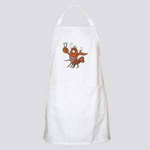 Toasting Wine Lobster BBQ Apron