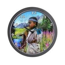 Otter Tails Wall Clock
