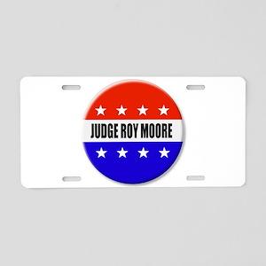 Judge Roy Moore Aluminum License Plate