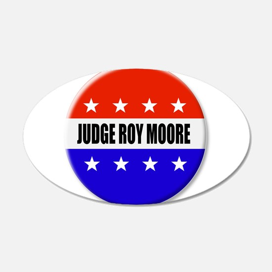 Judge Roy Moore Wall Decal