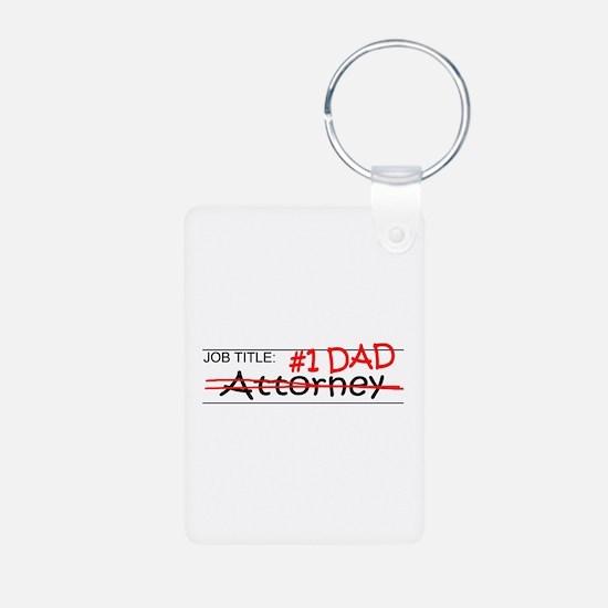 Job Dad Attorney Keychains