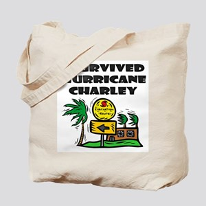 Survived Hurricane Charley Tote Bag
