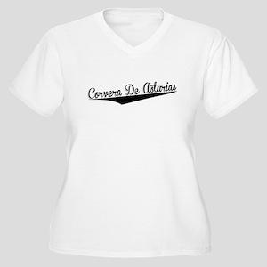 Corvera De Asturias, Retro, Plus Size T-Shirt