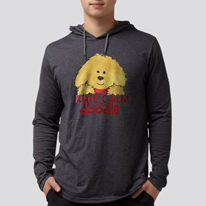 Goldendoodle Keep Calm Long Sleeve T-Shirt