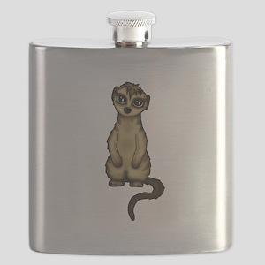 cute Meerkat Flask
