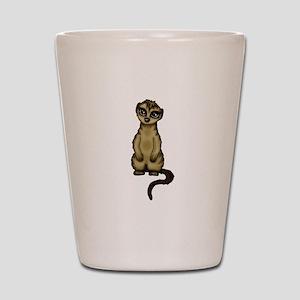 cute Meerkat Shot Glass