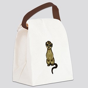 cute Meerkat Canvas Lunch Bag