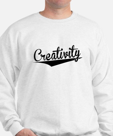Creativity, Retro, Sweatshirt