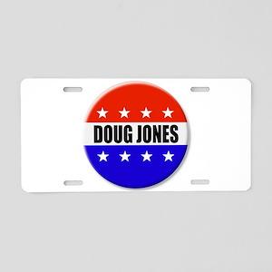 Doug Jones Aluminum License Plate