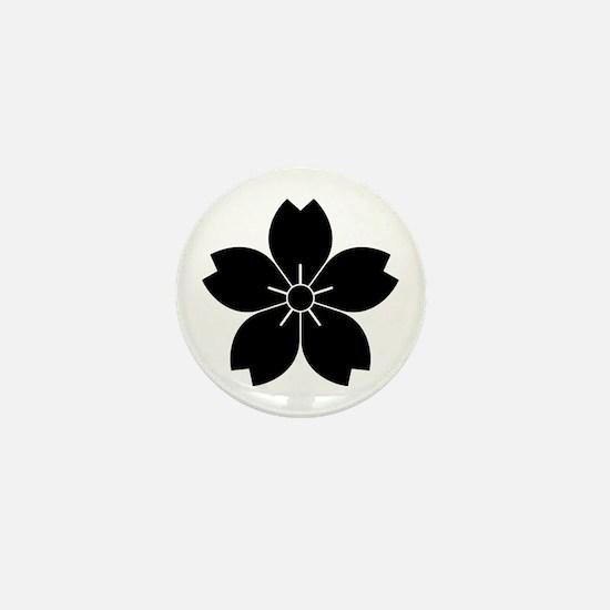 Wild cherry blossom Mini Button