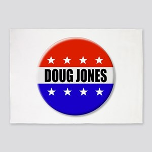 Doug Jones 5'x7'Area Rug