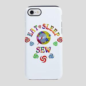 Eat Sleep Sew iPhone 7 Tough Case